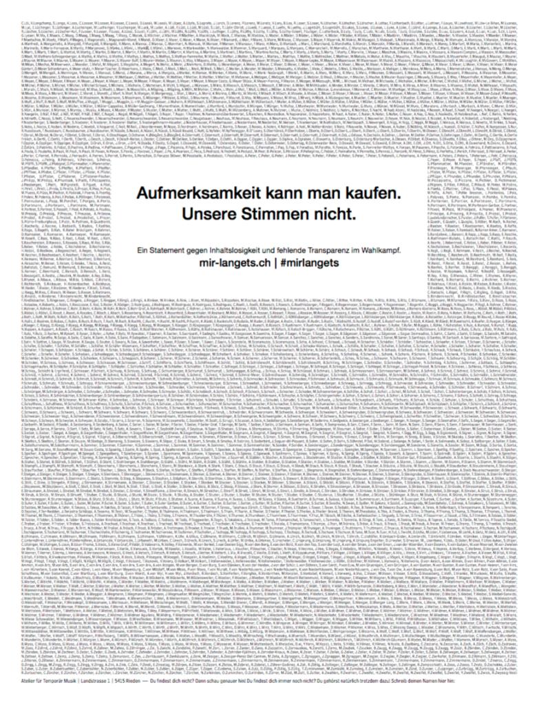 ...und Seite 1 (20Min.ch)