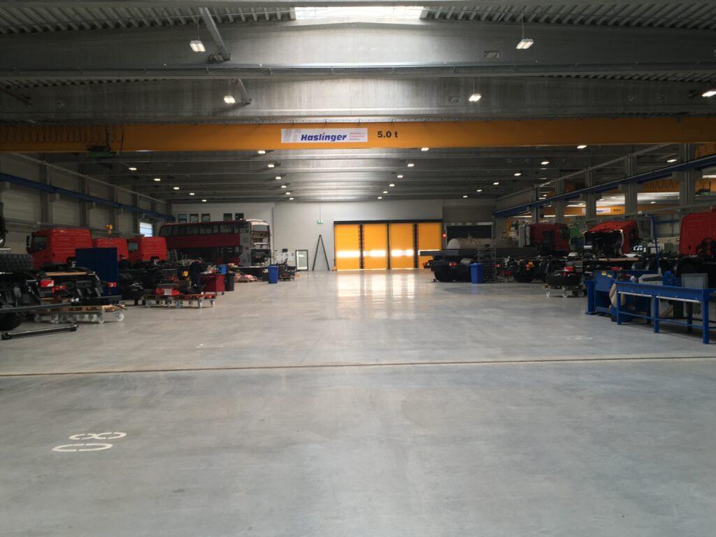 Die neue Produktionshalle (Bild: NA)