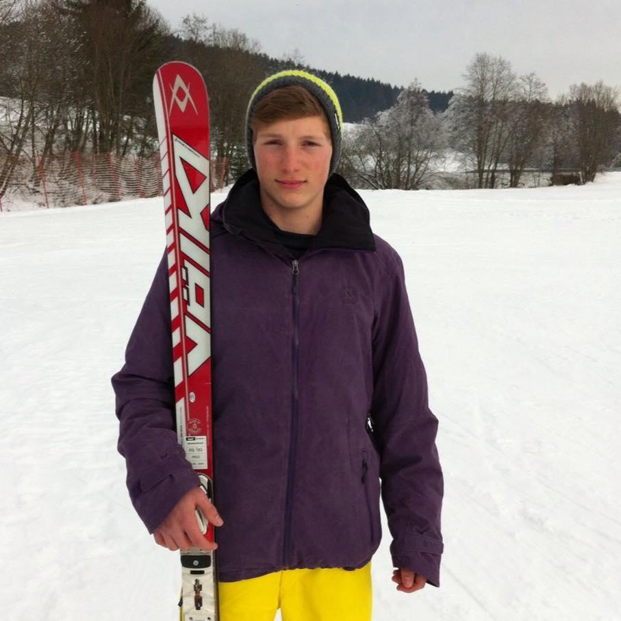 Frisch gebackener Jugend-Olympia-Sieger, Jonas Stockinger