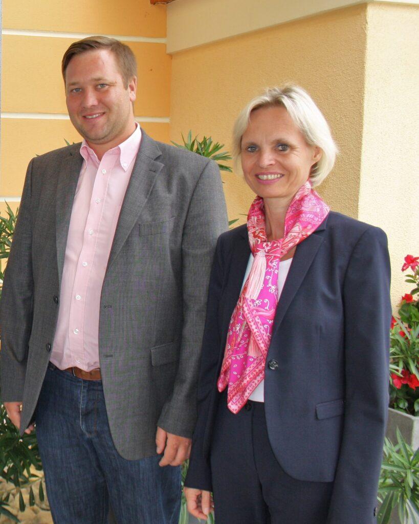 Die Bezirksräte Cornelia Wasner-Sommer und Josef Heisl jun. - Foto: Privat