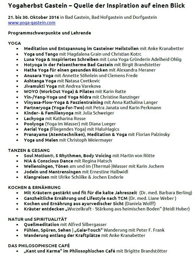 Programmschwerpunkte und Lehrende