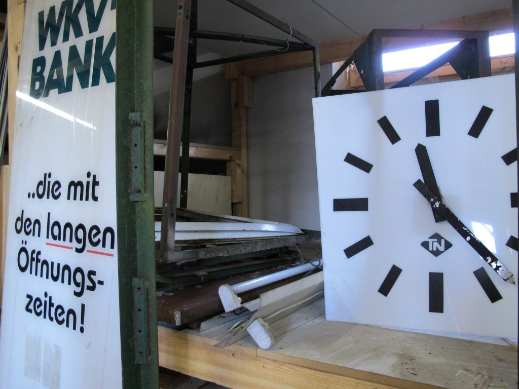 """Eine der """"Uhren"""" von der Niha (Foto: Stadt Archiv Passau, OberhausMuseum Passau)"""
